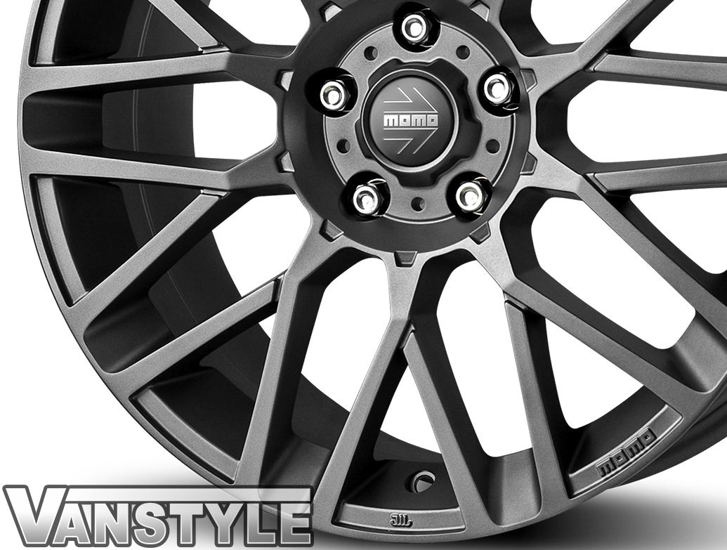 "MOMO Revenge Anthracite 18"" VW T5 T6 Wheels & Tyres"