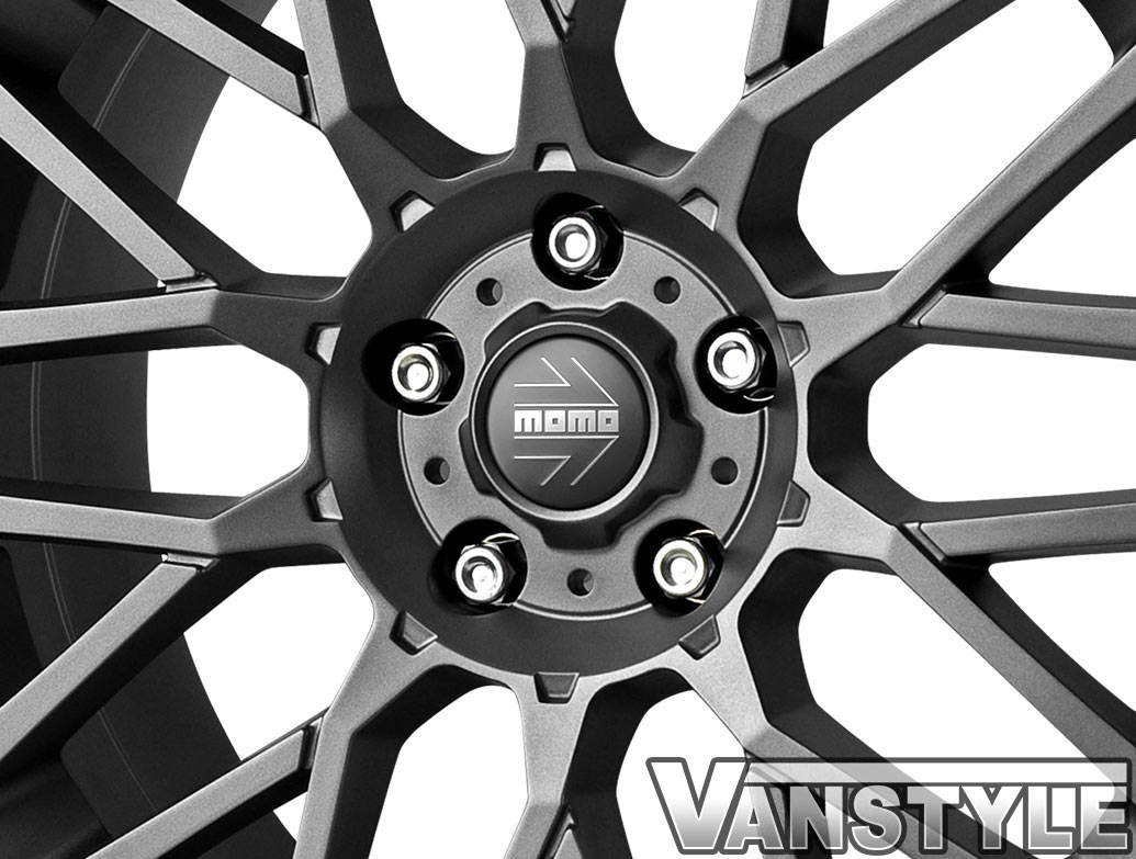 "MOMO Revenge Anthracite 18\"" VW T5 T6 Wheels & Tyres"
