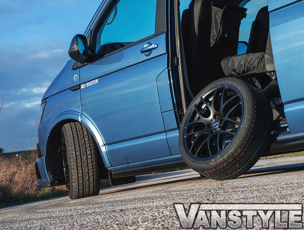 "Calibre Exile-R 20\"" Matte Black Alloy Wheels & Tyres"