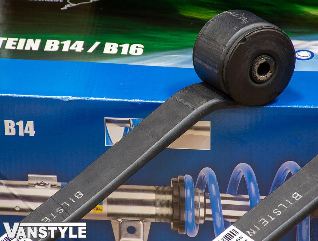 Bilstein 40mm Lowered Rear Leaf Spring (x2) - Transit Custom