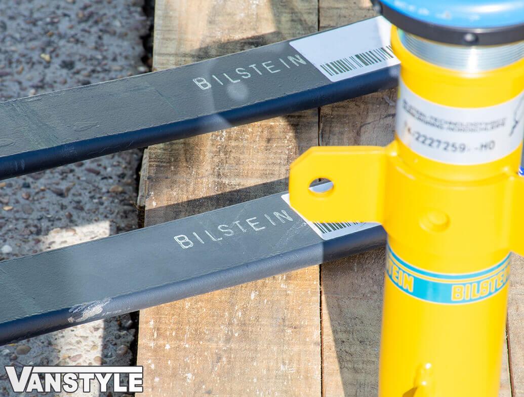 Bilstein B14 Coilovers + Lowered Rear Springs - Transit Custom