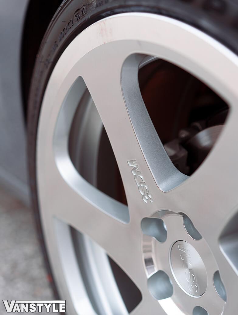 "3SDM 0.06 Silver Cut - 19\"" Alloy Wheel & Tyre Set - VW Caddy 04>"