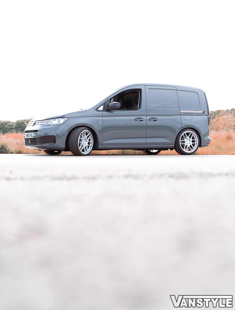 """3SDM 0.09 Matte Silver 19\"""" Alloy Wheel & Tyre Set - VW Caddy 04>"""