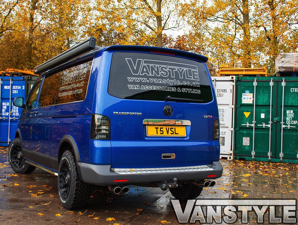 Tailgate Rear Spoiler - VW T5 Transporter / Caravelle 03-15