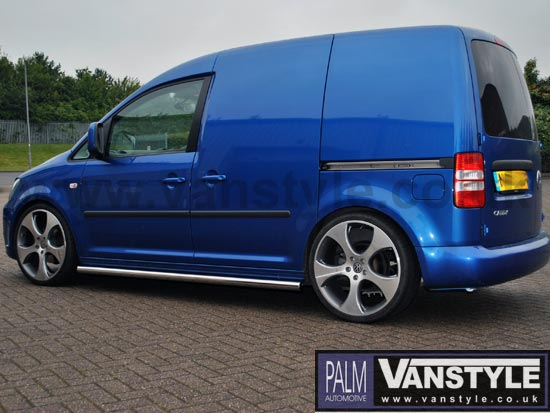 Vs Styling 60mm Sidebars No Step Vw Caddy 04 15 15 Vanstyle
