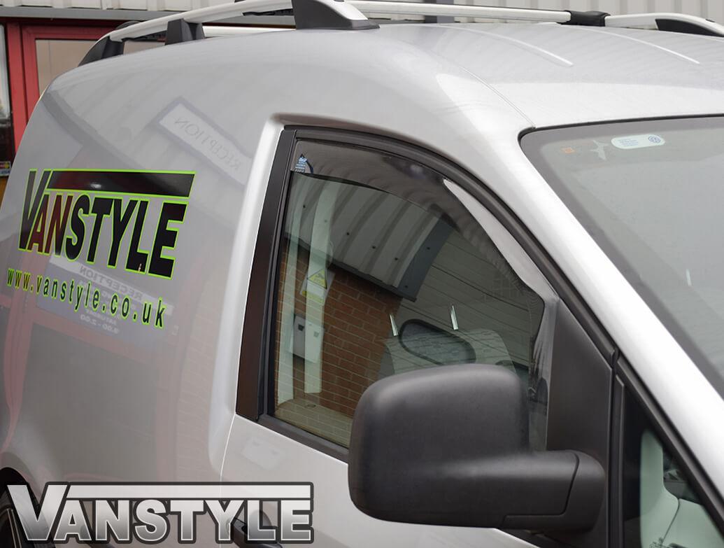 Side Wind Deflectors (Front Doors) VW Caddy 2Dr 04-15 & 15>21