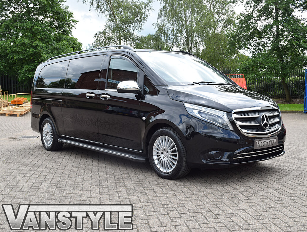 Side Wind Deflectors (Front) Mercedes Vito W447 2014>