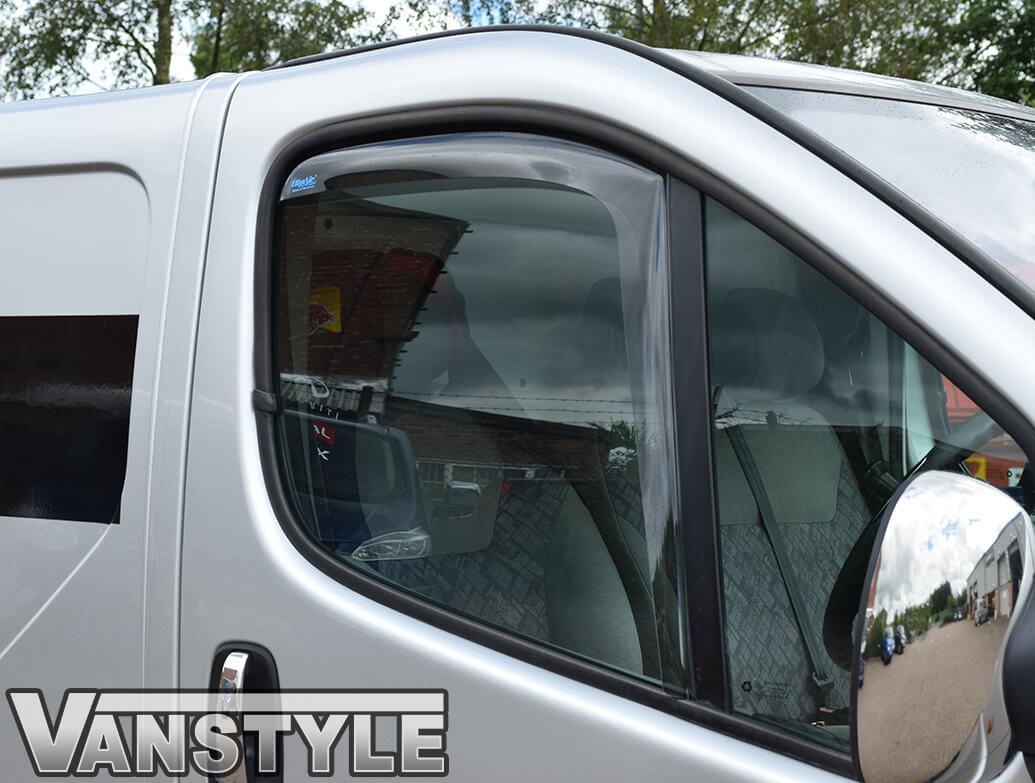 Side Wind Deflectors (Front Doors) Vivaro-Trafic-Primastar