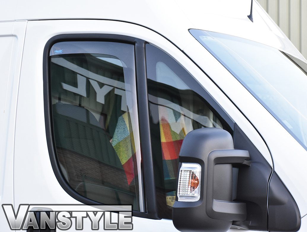 Side Wind Deflectors (Front Doors) Ducato/Relay/Boxer 07>