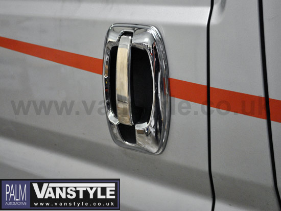 Ducato Boxer Relay Chrome Abs Door Handle Covers 06 Vanstyle