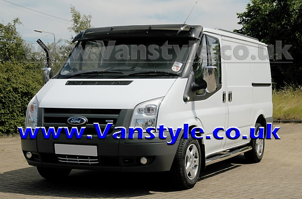 ford transit chrome mirror covers pair mk6 mk7 2000 2013 door side mirrors ebay. Black Bedroom Furniture Sets. Home Design Ideas