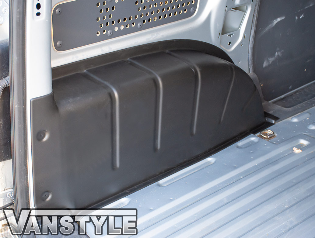 Textured Black ABS Inner Wheel Arch Covers - VW Caddy SWB 04>