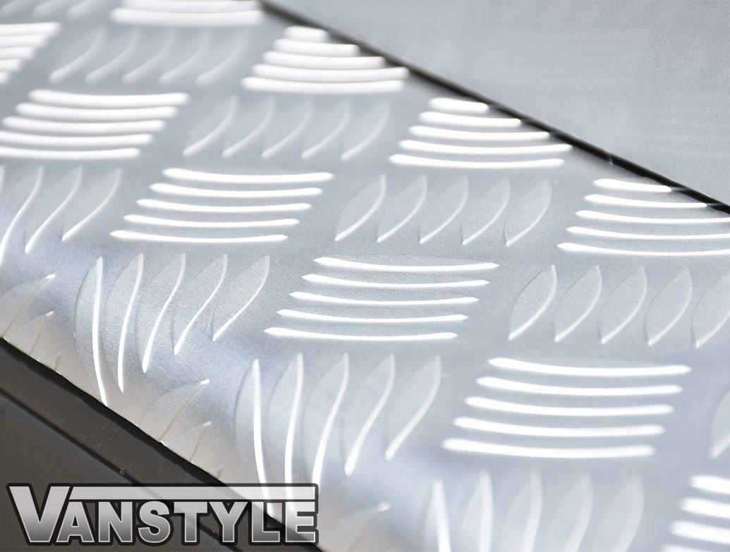 3D Aluminium Bumper Protector - Vivaro/Trafic/Primastar 01-14
