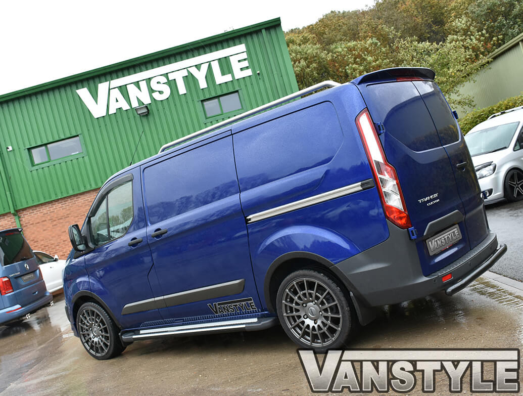 Sherwood Style Aluminium Side Step - Mercedes Vito/Viano C&L 03>