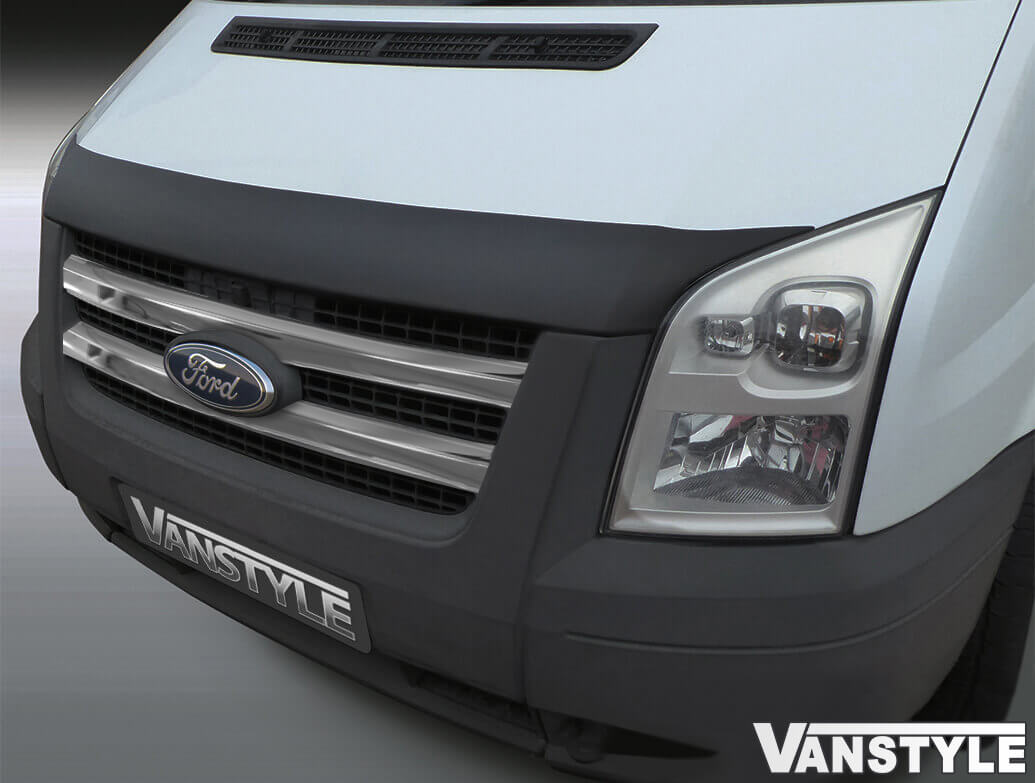 Front Grille Covers Stainless Steel Ford Transit Mk7 2007>13