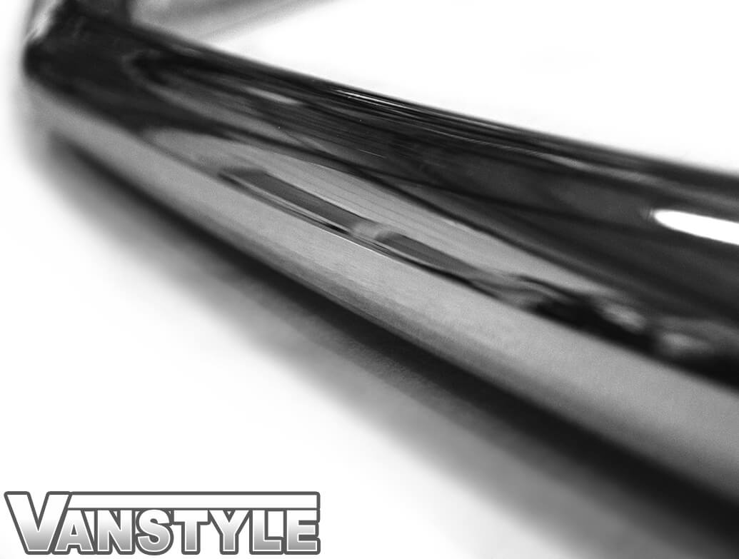 Polished Stainless Steel Front City Bar - Custom 2012>