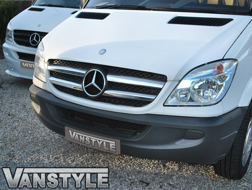 Stainless Steel Front Grille (Set 4) - Mercedes Sprinter 2006>13