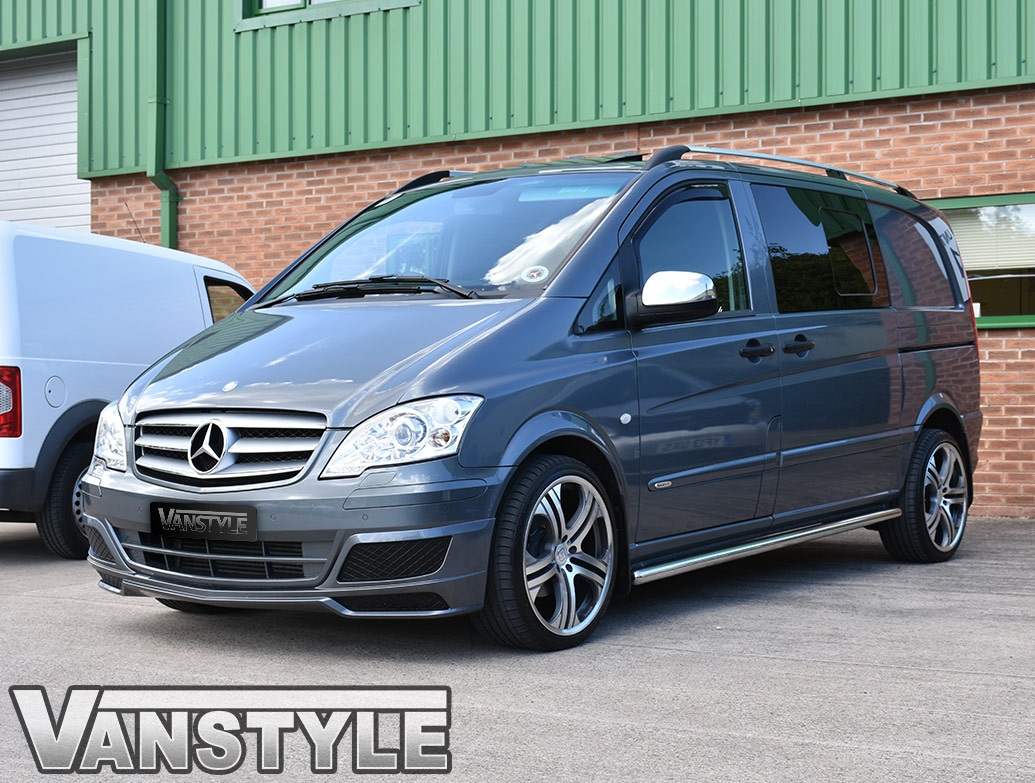 Stainless Steel Mirror Covers Mercedes Vito 2011-14