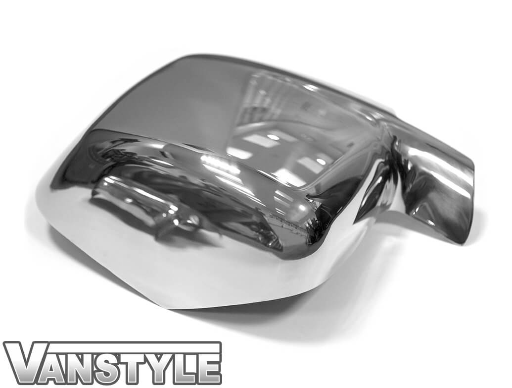 Polished Stainless Steel Mirror Covers - Bipper Nemo Fiorino 08>