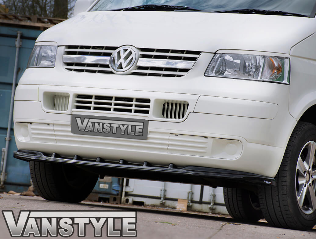 Stainless Steel Twin Piece Limo Grille - VW T5 Transporter 03-09