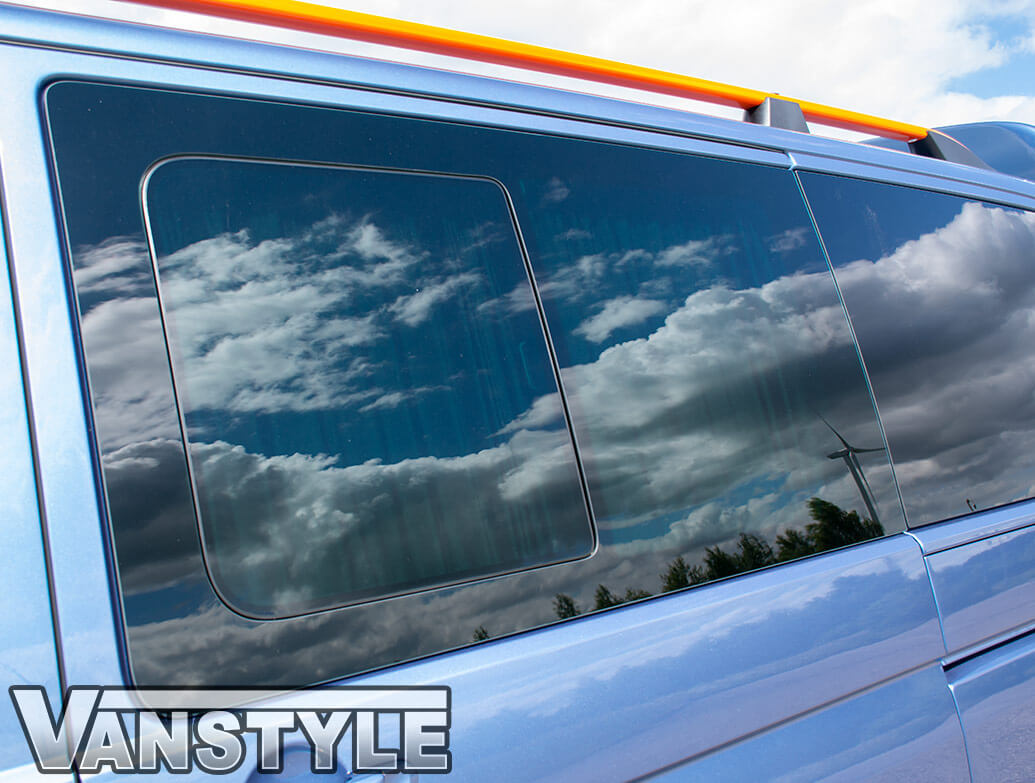 Tailored Blackout Curtain - Black - Sliding Door - VW T5/T6