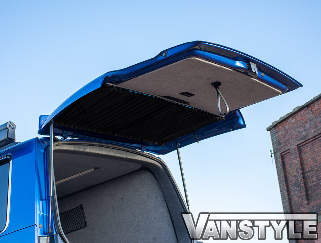 Tailored Blackout Curtain - Black - Tailgate Window - VW T5/T6