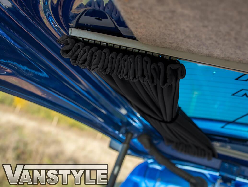 Tailored Blackout Curtain - Black - Tailgate Window - VW T5/T6