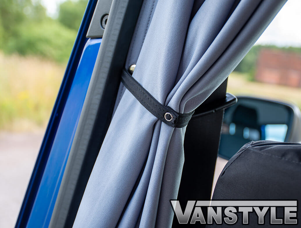 Tailored Blackout Curtain - Grey - Cab Divider - VW T5 T6 03>