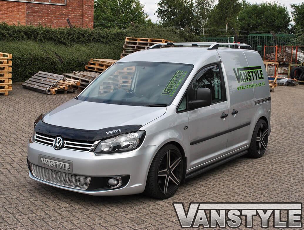 Gloss Black Acrylic Bonnet Deflector - VW Caddy & Maxi 10>15
