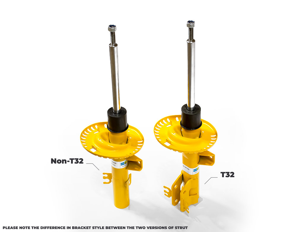 Bilstein B8 Front Suspension Damper Unit Pair - VW T5 T6