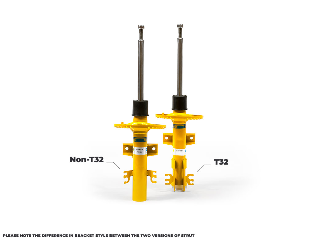 Bilstein B8 Single Front Suspension Damper Unit - VW T5 T6 T32