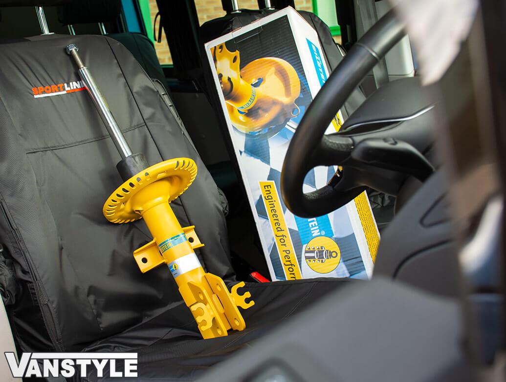 Bilstein B8 Front Suspension Damper Unit Pair - VW T5 T6