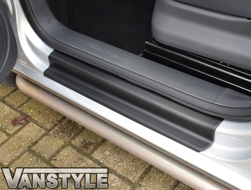 VW Front ABS Sill Entry Kick Plate Guards Caddy & Maxi 04-15>