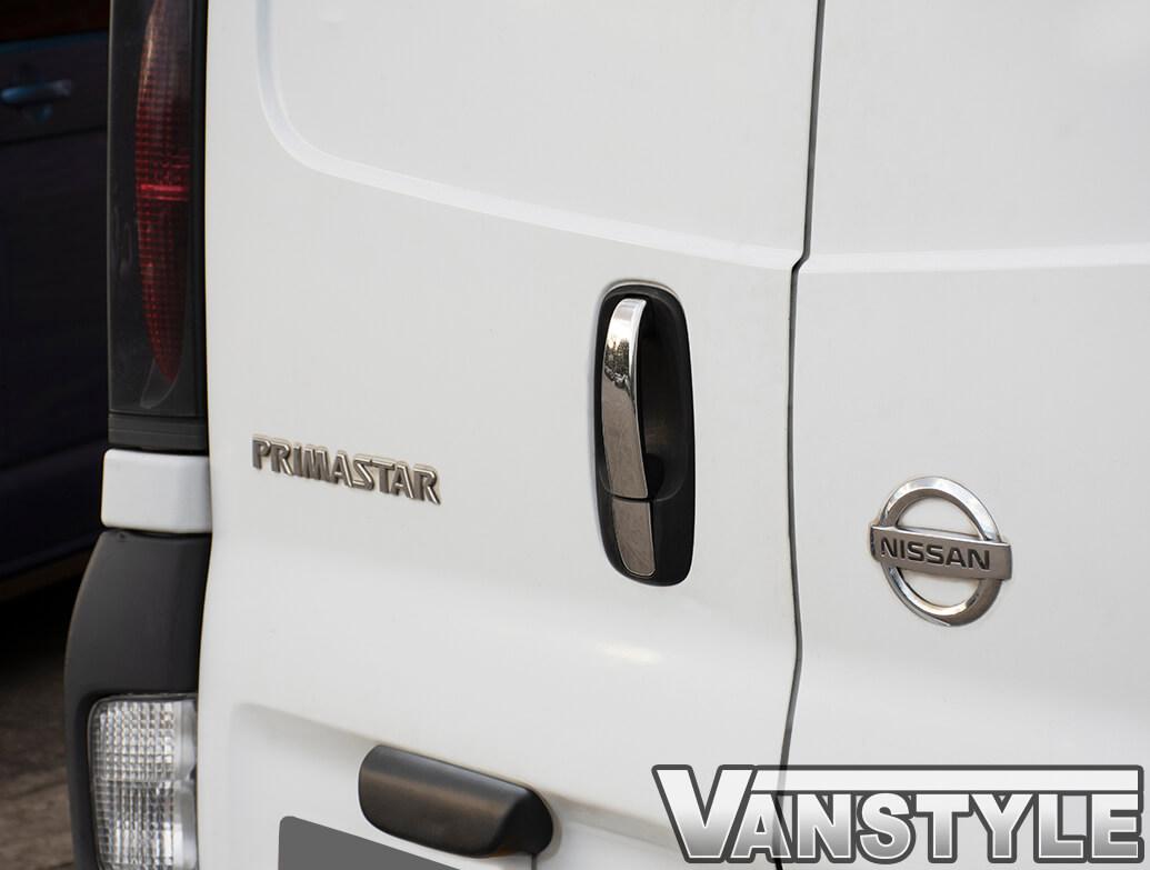 Door Handle Cover Set Stainless Steel - Vivaro Trafic Primastar