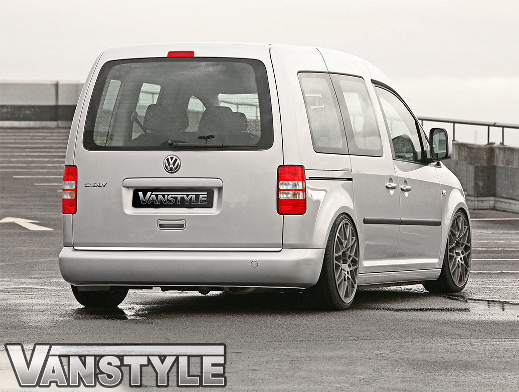 Polished Stainless Steel Tailgate Trim Line - VW Caddy Mk3 04-15