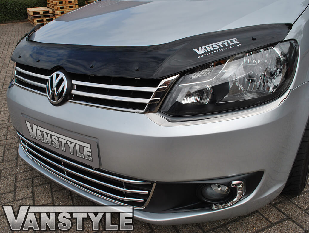 Stainless Steel Front Upper Grille Trim - VW Caddy 2010>15