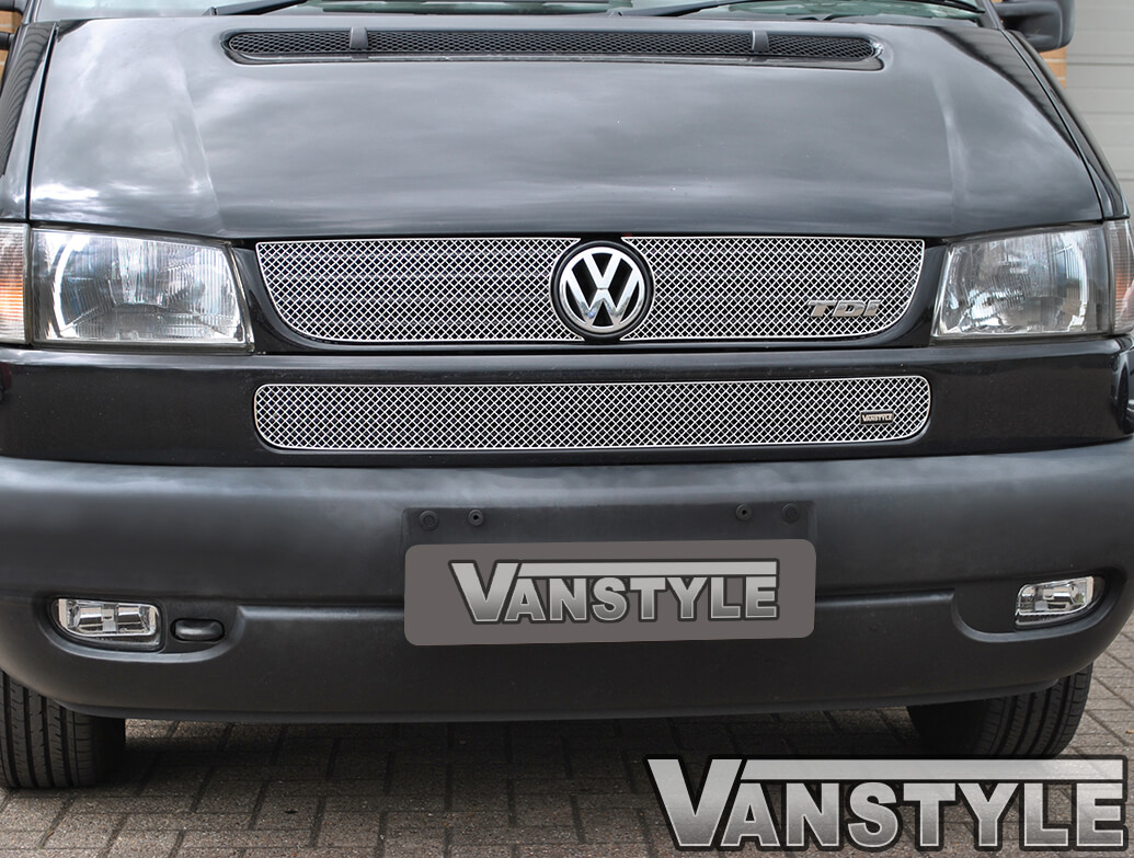 Vanstyle Sports Upper and Lower Grille Set VW T4 Long Nose