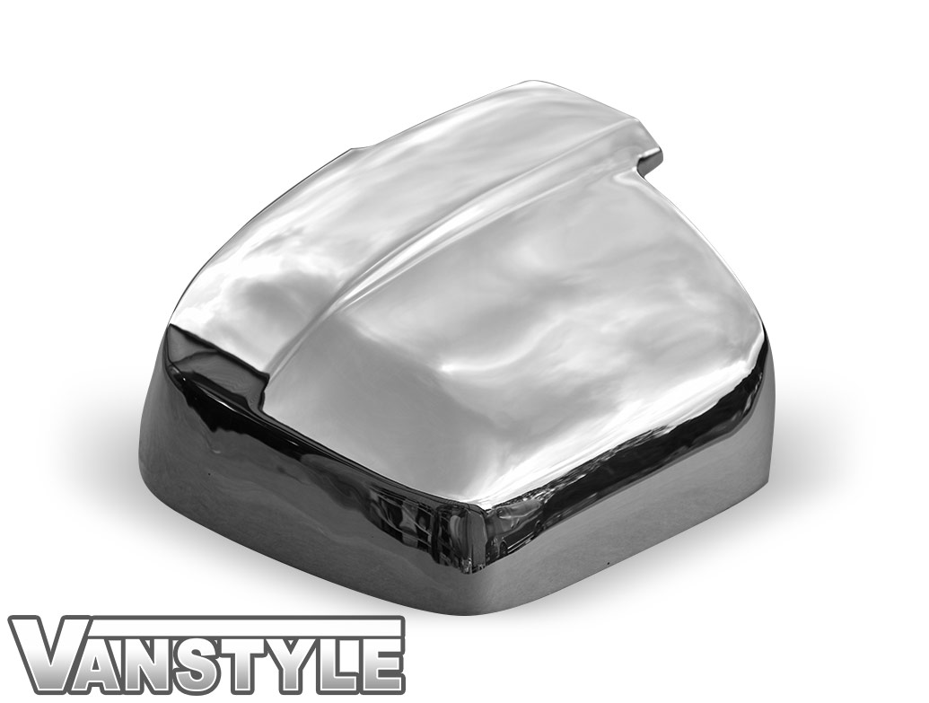 Polished Stainless Steel Wing Mirror Covers - Hyundai i800/iLoad