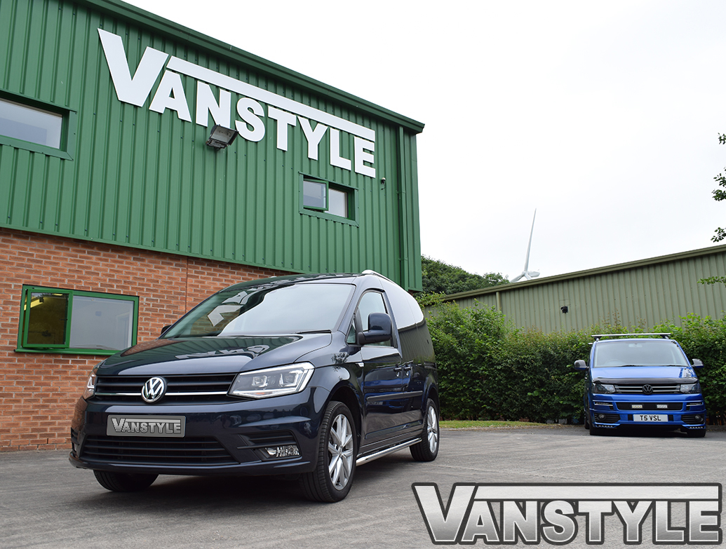 Vanstyle Sport 50mm Stainless Steel Sidebars VW Caddy SWB 04>21