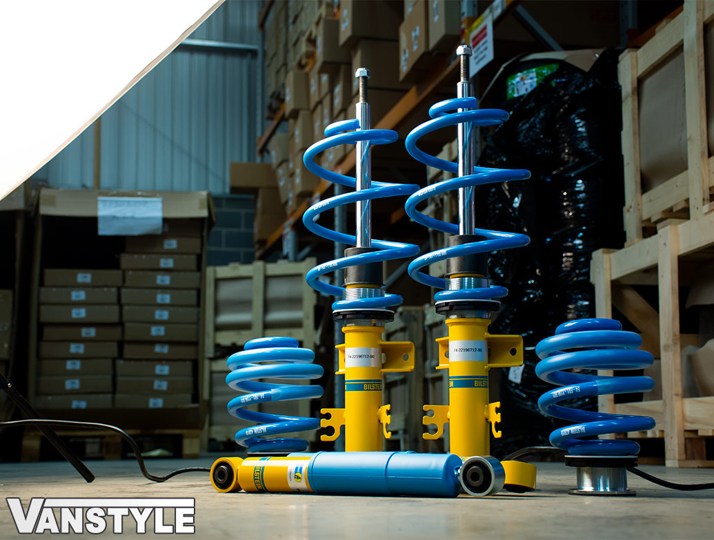 Bilstein B14 Height Adjustable Coilover Suspension - VW T5 T6