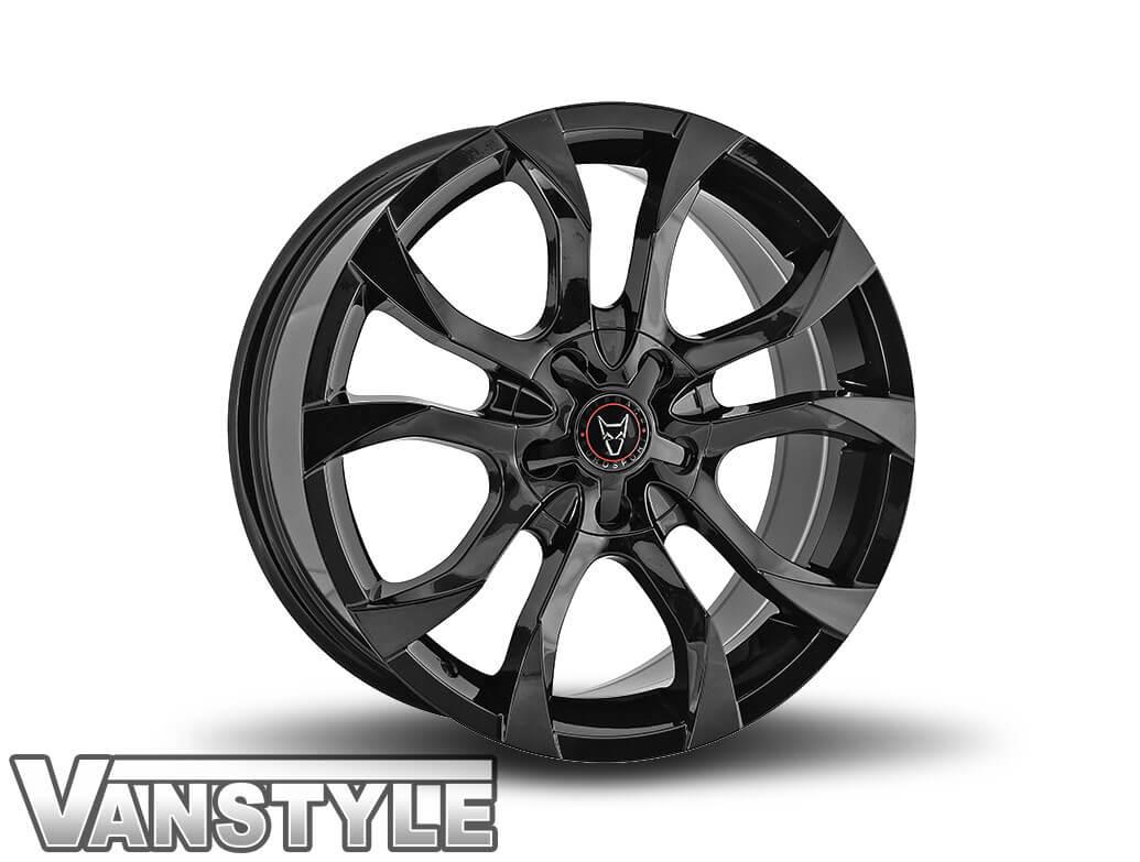 Wolfrace Assassin 18in 8J Gloss Black - VW T5/T6 Wheel & Tyre