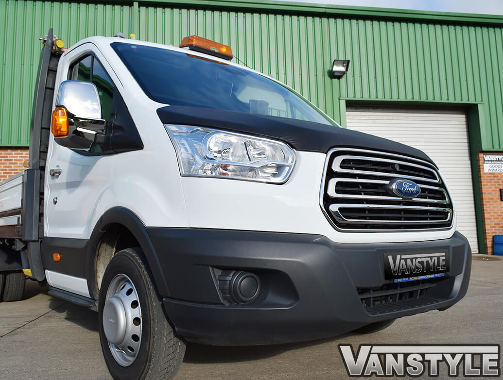 Ford Transit MK8 Stainless Steel Full Front Grille Kit 2014>