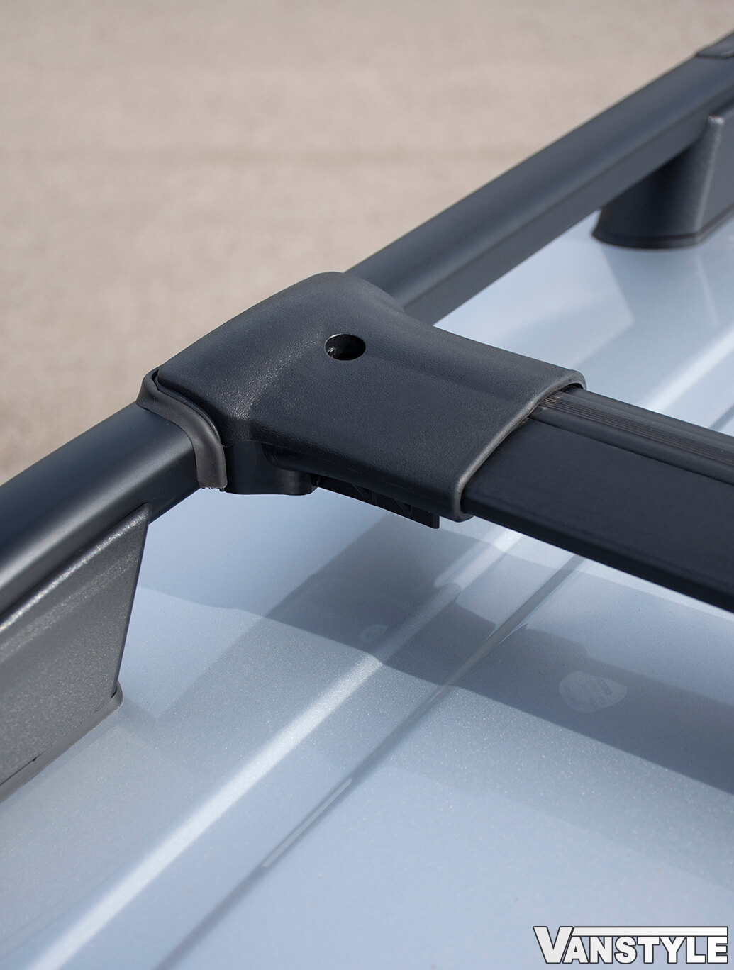 VW Caddy Black Roof Bars & Cross Bar Set