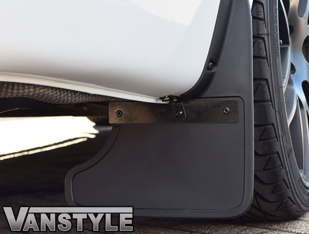 Mud Flap Set Twin Door Rear  - VW T6 2015>