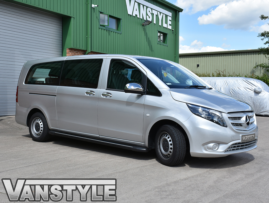 Mercedes Vito Stainless Steel 4 or 5 Door Handle Covers 2014>