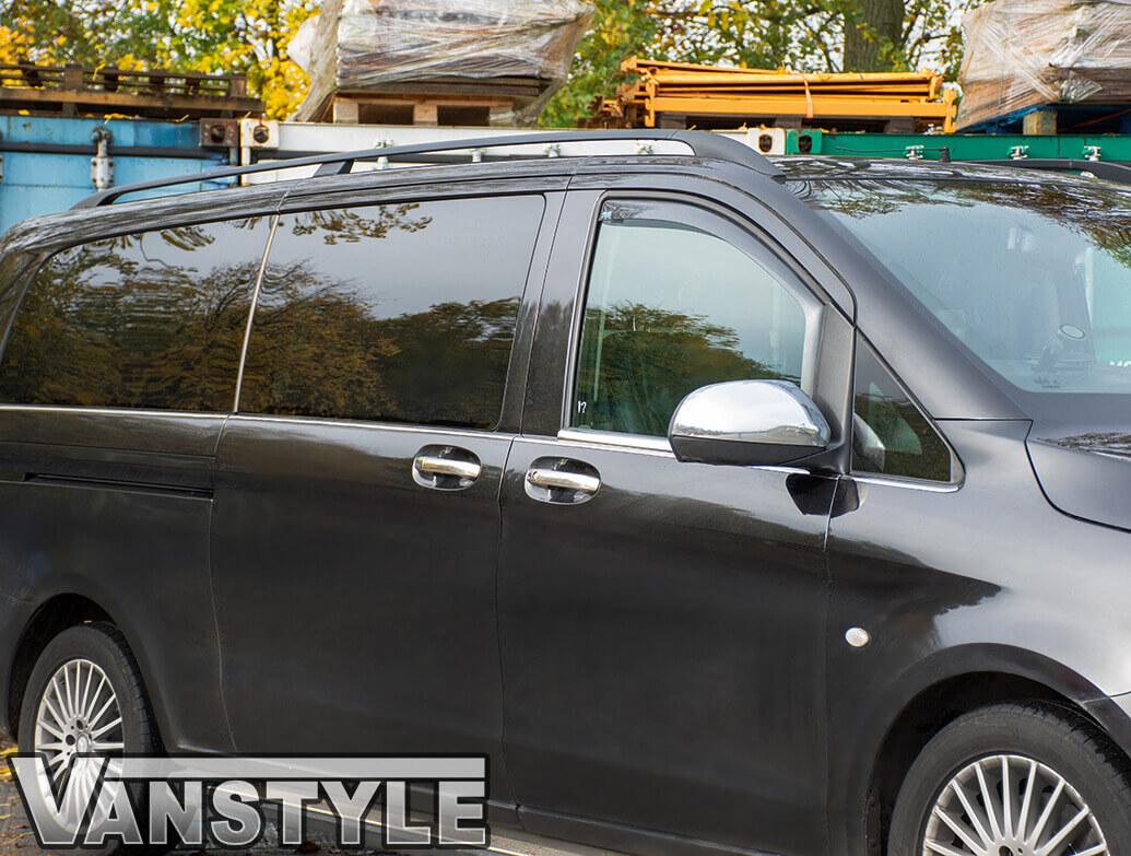 Mercedes Vito 2Pcs. Stainless Steel Window Trim 2014>