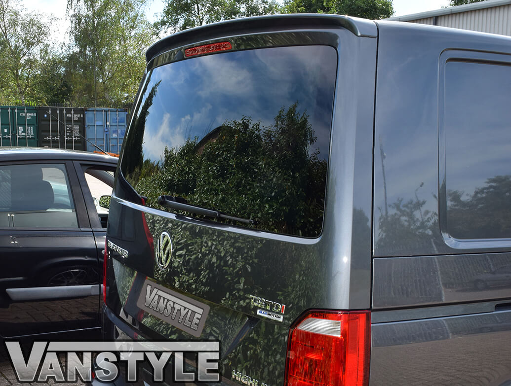 Rear Tailgate Spoiler ABS VW T6 T6.1 2015 Onwards
