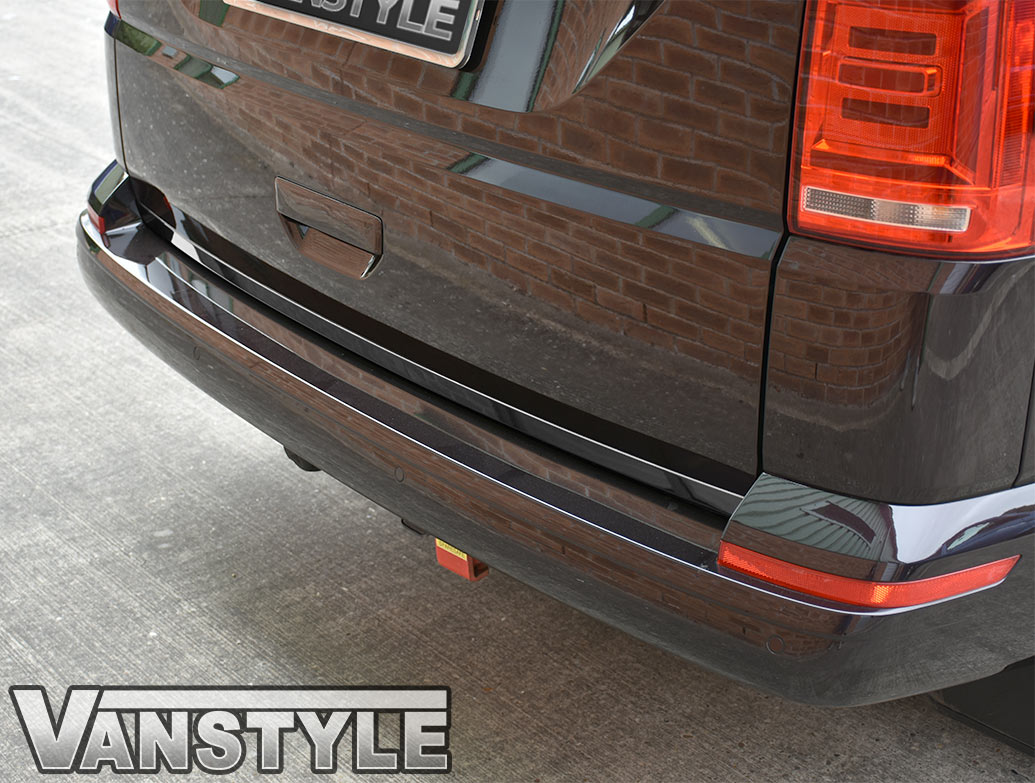 VW T6 T6.1 2015> 1Pc. Stainless Steel Rear Tailgate Trim