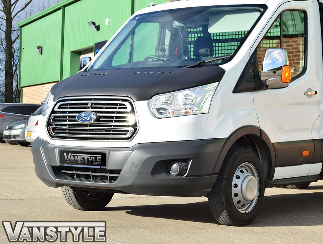 Ford Transit MK8 2014-2019> Plain Bonnet Bra