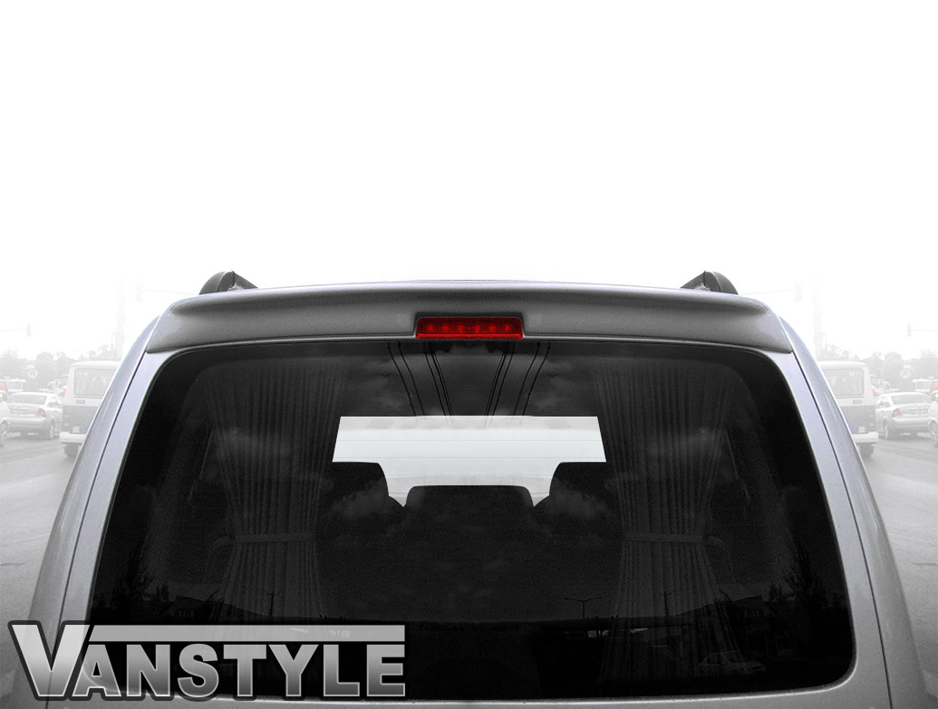 VW Caddy & Maxi - Tailgate GRP Rear Spoiler